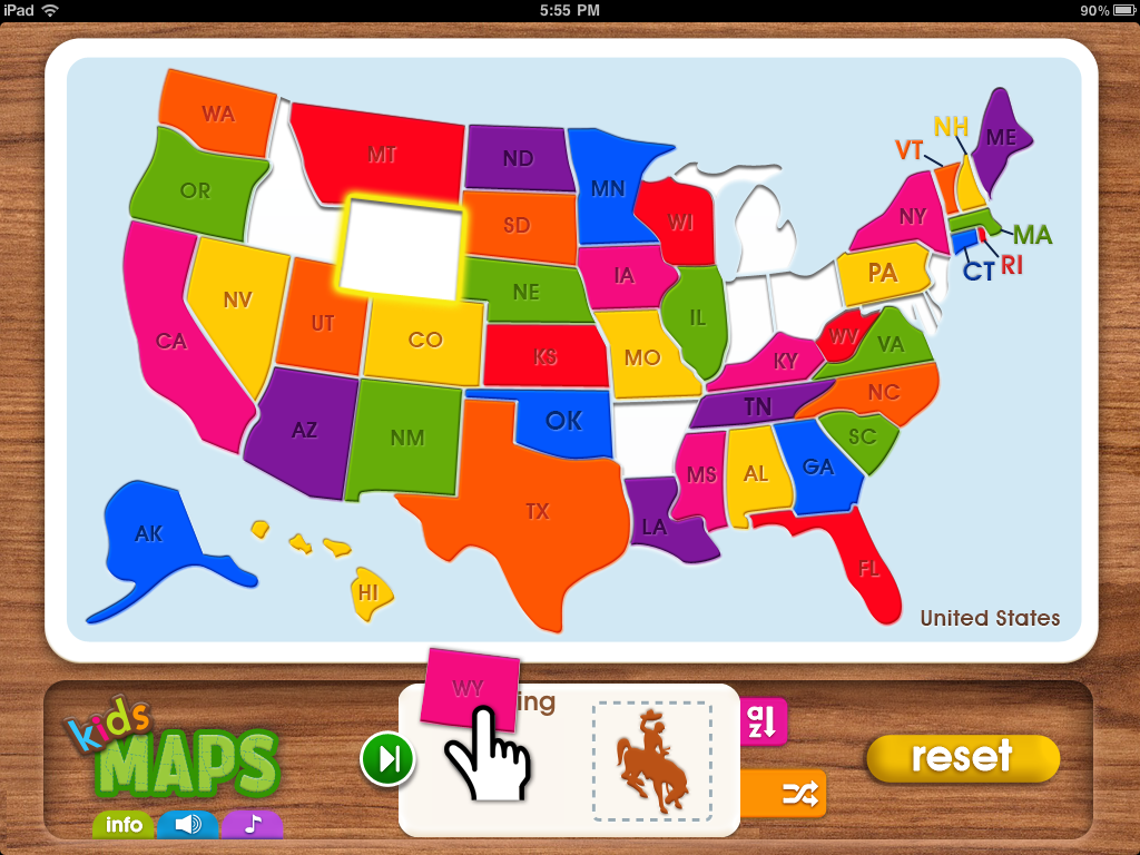 App Gallery | Map Puzzle Games for iPad & Android | Kids Maps